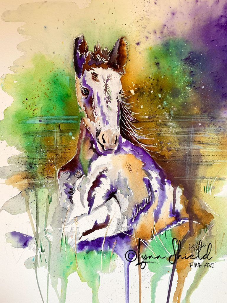 Kikisan in Purple